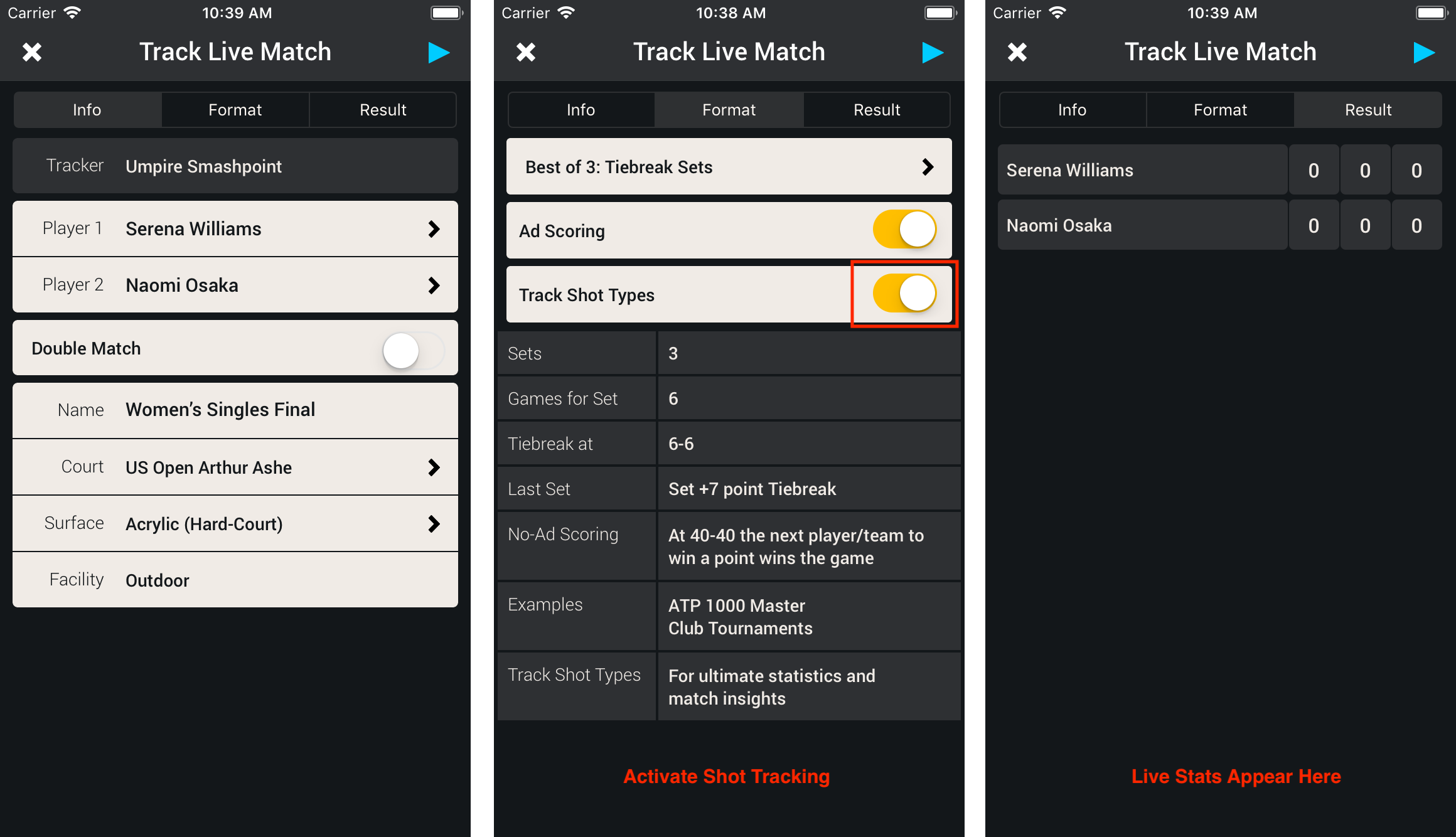 Smashpoint Tennis Shot Tracker 1