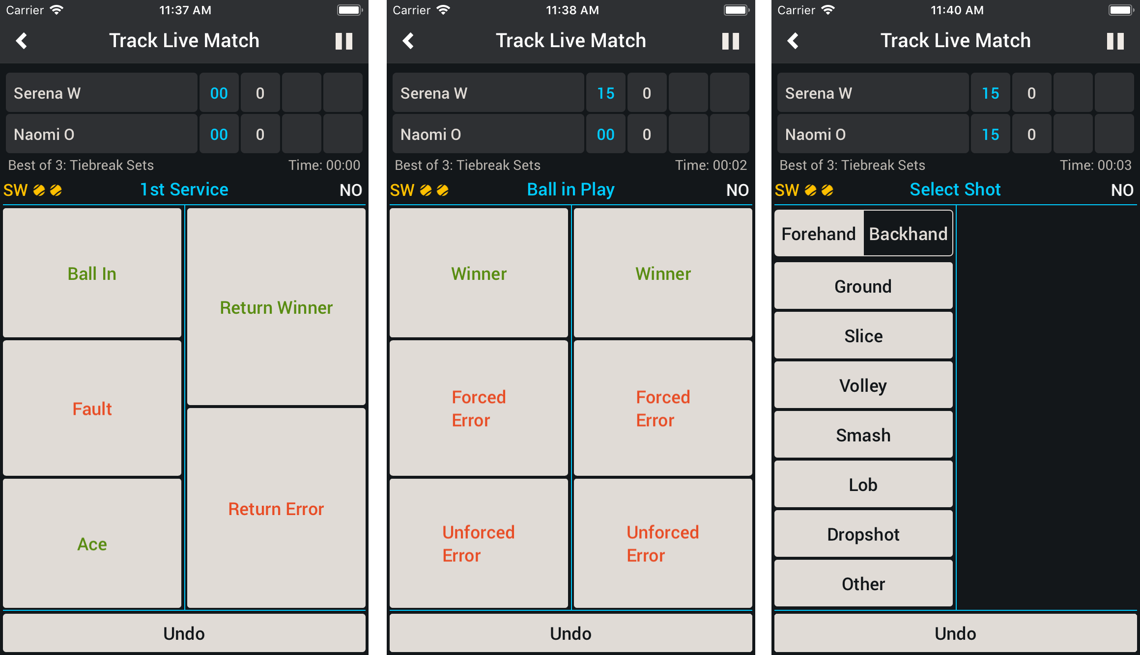 Smashpoint Tennis Shot Tracker 2