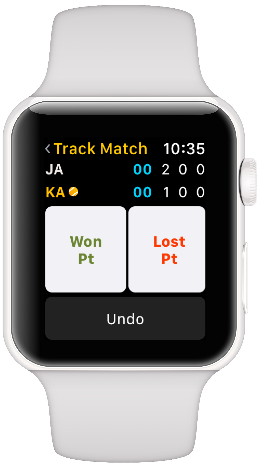 Apple Watch Tennis Tracker