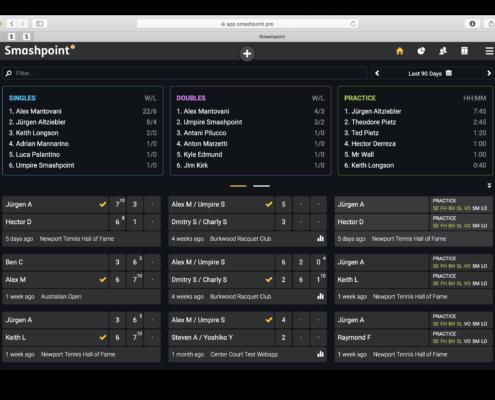 Smashpoint Web App Home