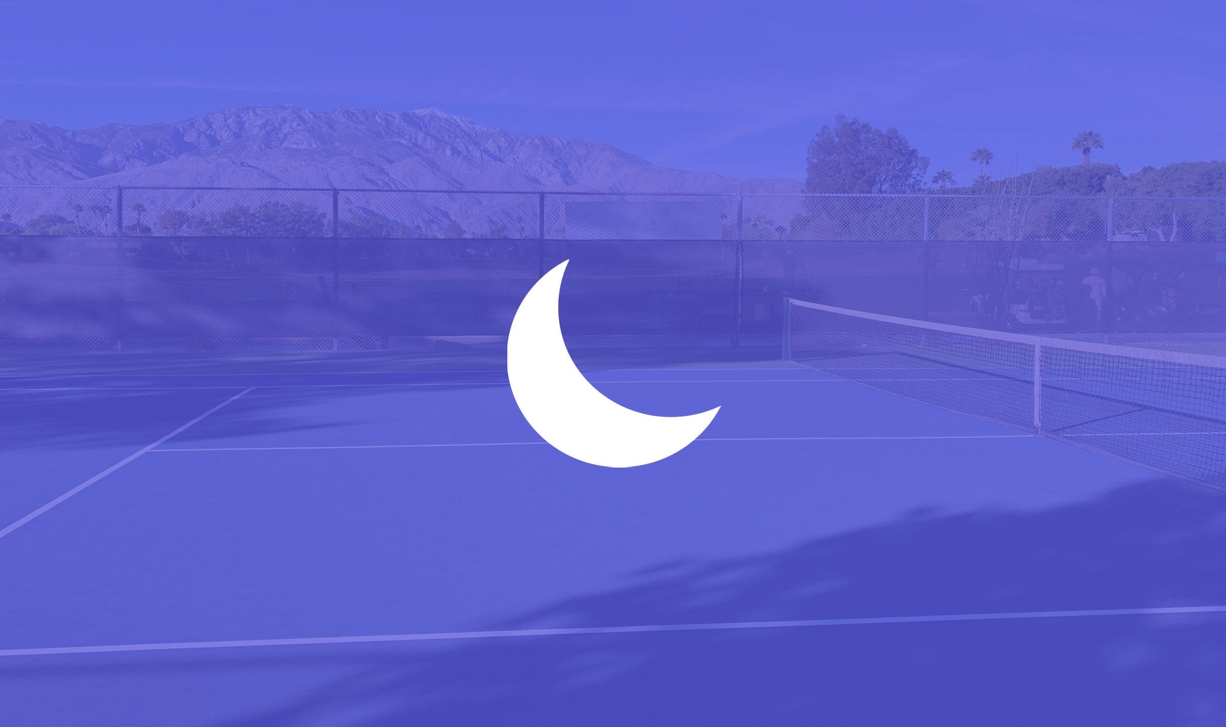 Do Not Disturb Tennis Court