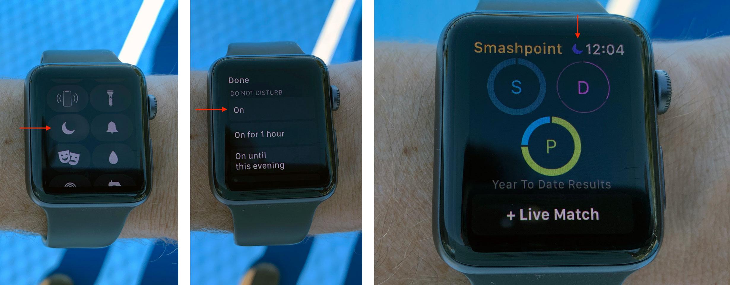 Apple Watch - Do Not Disturb
