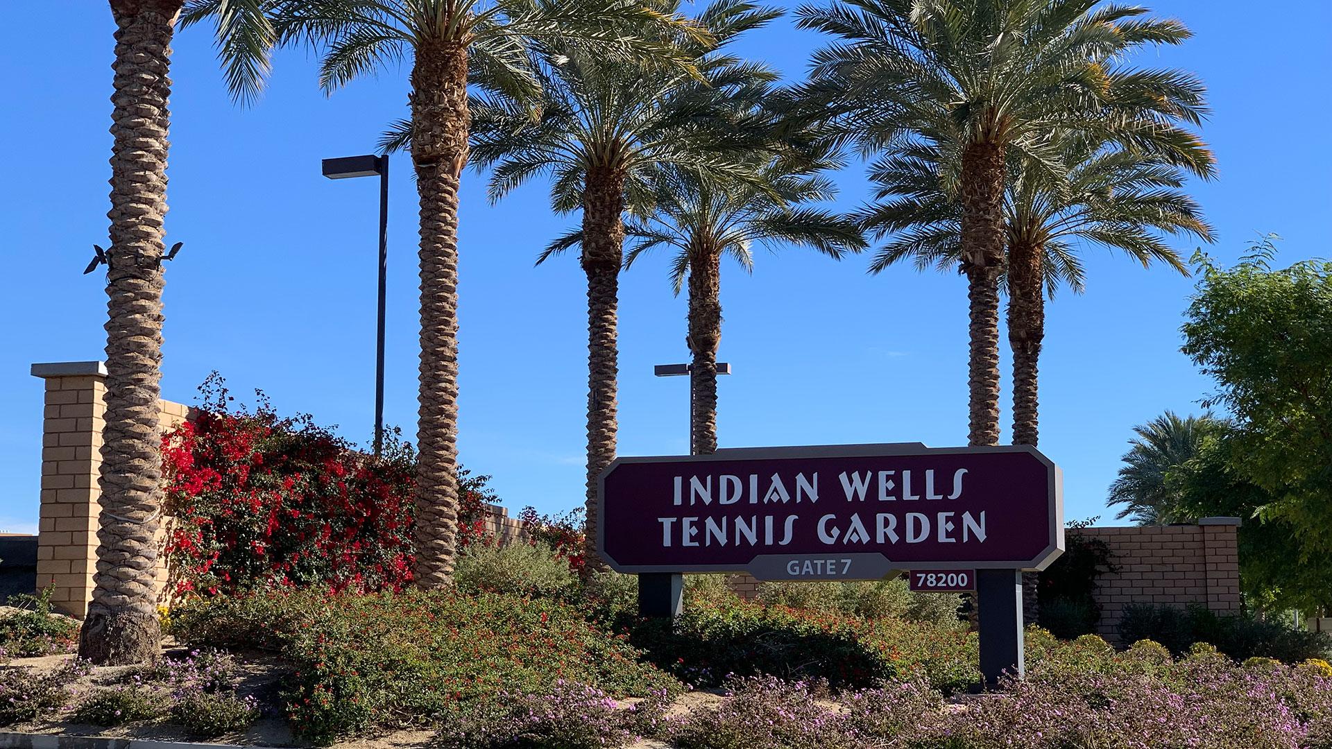 Indian Wells Entrance Gate 7
