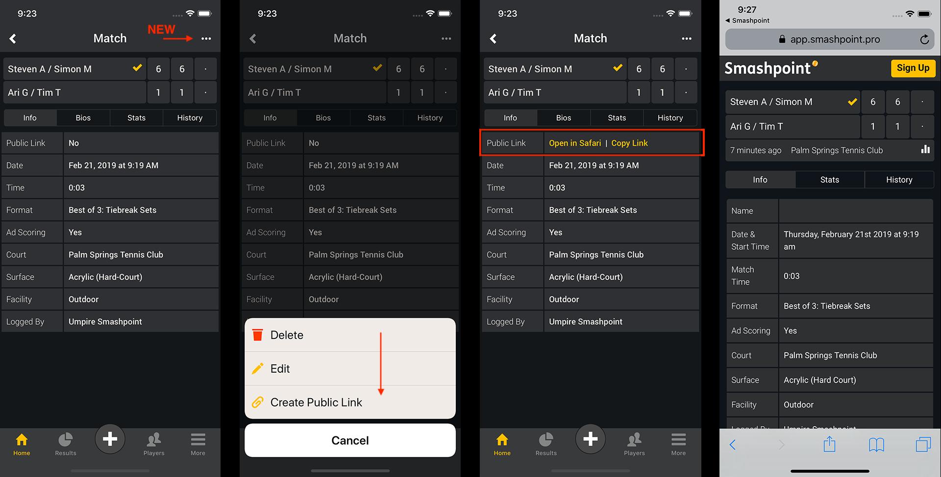 Smashpoint iOS App 2.2 Tour 1