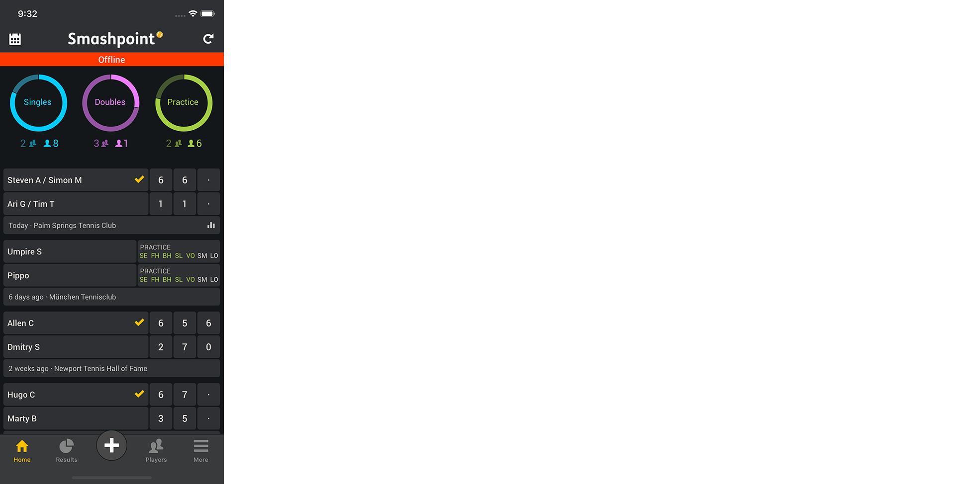 Smashpoint iOS App 2.2 Tour 5