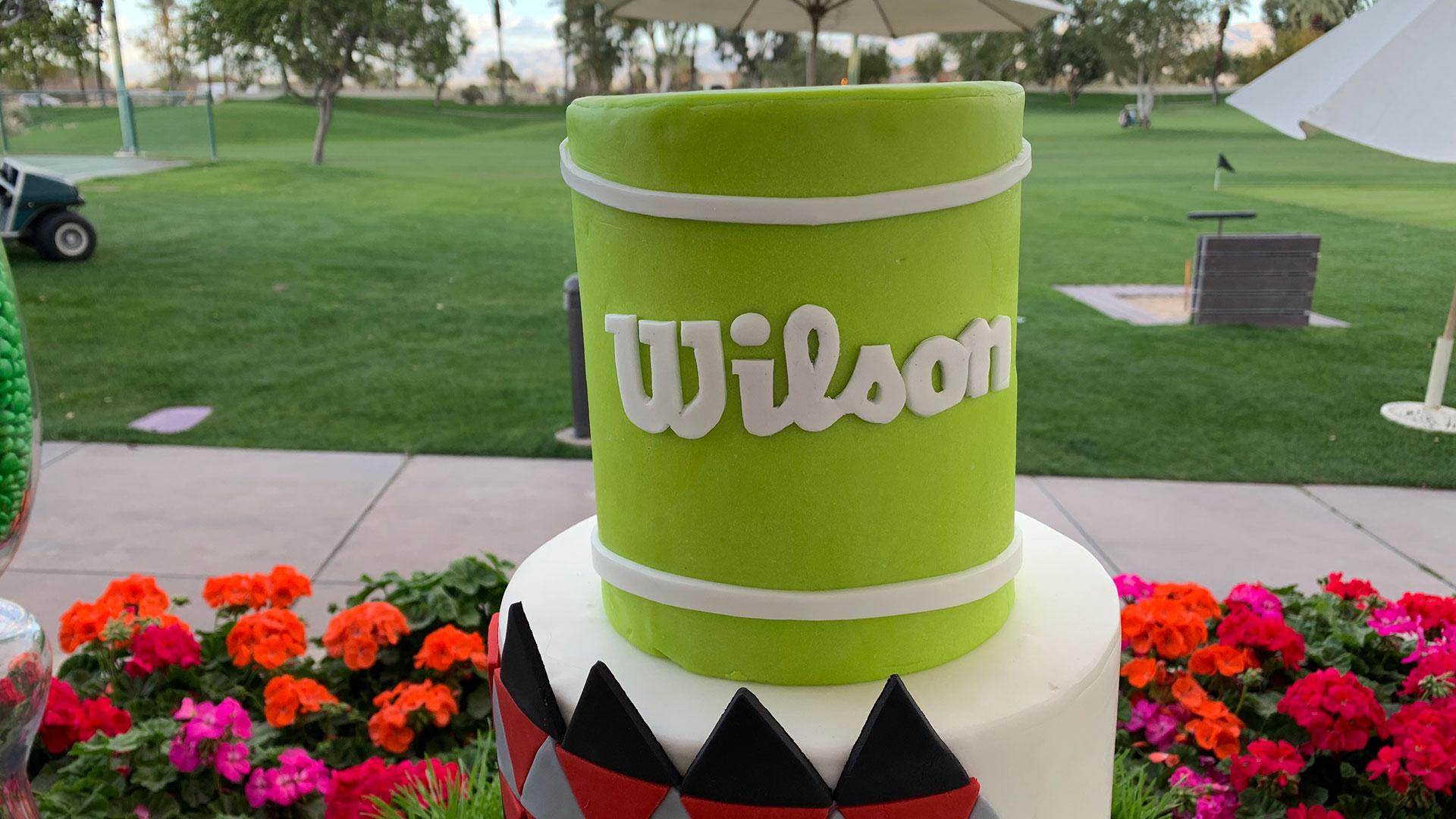Wilson Clash Cake