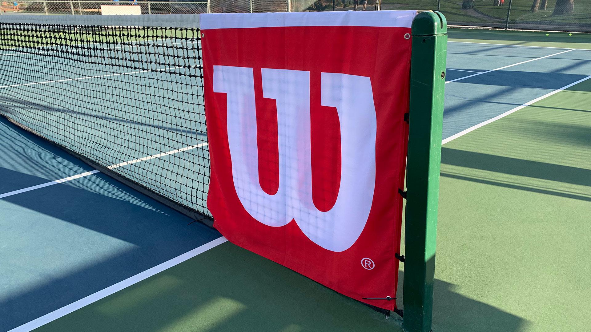 Wilson Tennis Net Banner