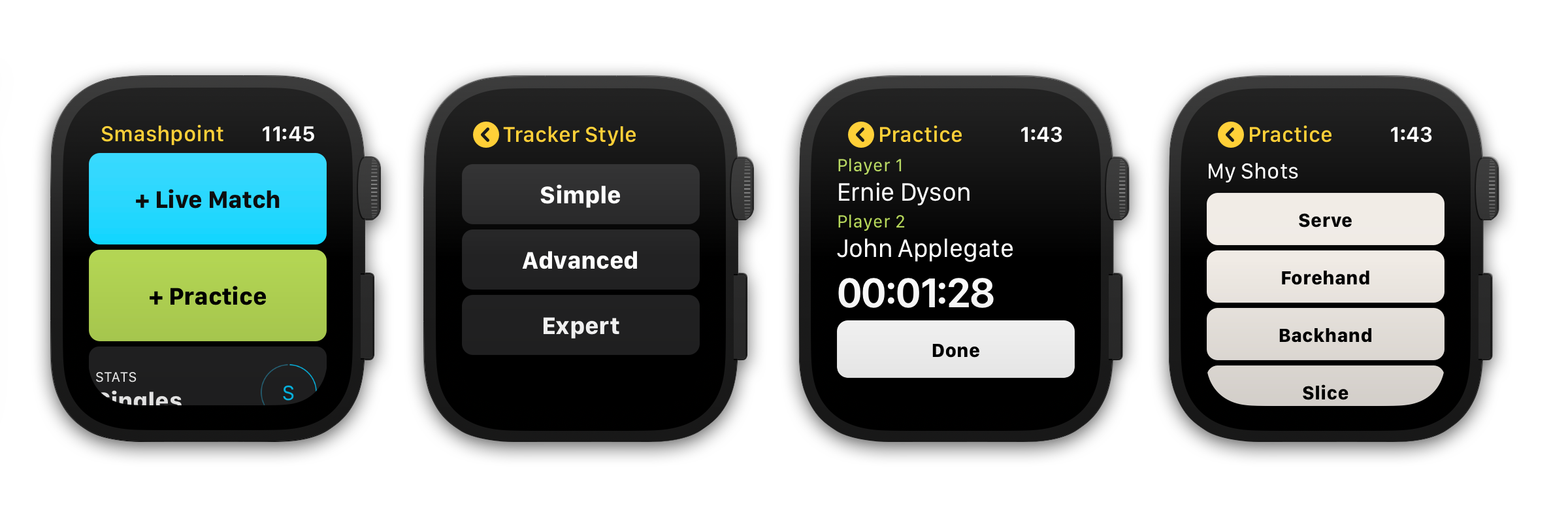 Smashpoint Apple Watch App